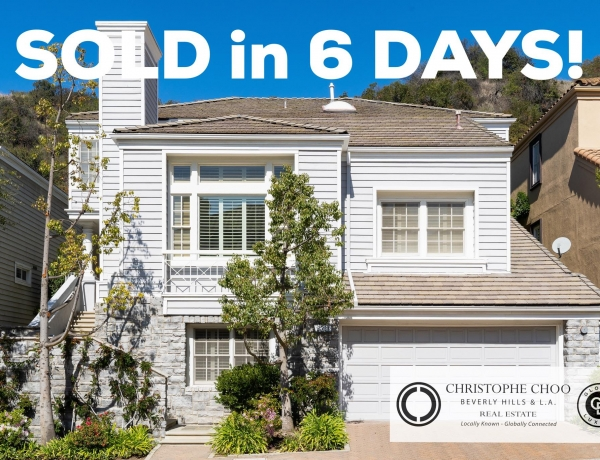 We did it again! Christophe Choo SOLD this home in the 24-hr guard gated community of Bel Air Crest in 6 days for $2,525,000.