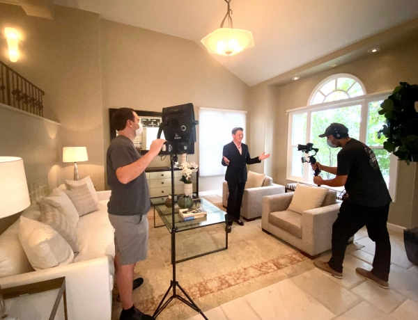 Video Shoot in Bel Air Crest