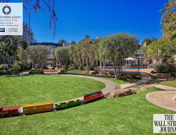 We just exclusively listed the largest residential estate in the history of the flats of Beverly Hills for $58,888,000