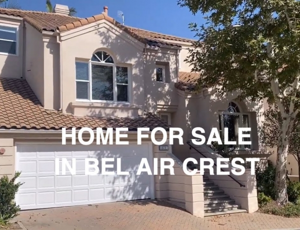 Canyon Home For Sale at 11813 Gywnne Lane in Guard Gated Bel Air Crest – Christophe Choo